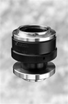 1.0x F-mount adapter for Nikon Eclipse Microscopes with twist focus adjustment