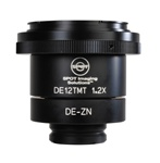 DE12ZNT 1.2X Digital SLR/Large Format Camera Adapter for Zeiss Microscopes with Slip-in-style Photoports (Axio 2 series)