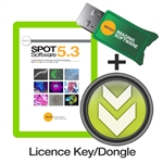 SPOT 5.3 Advanced and Basic Software License with USB Key/Dongle
