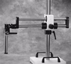 SMS20-6 Large Dual Arm Ball Bearing Boom Stand with Weighted Base