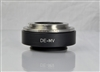 DE10MVF 1.0  F-Mount Camera Adapter for Olympus MVX Series Microscopes