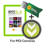 SPOT v5.2 Advanced License for SPOT PCI Connected Cameras